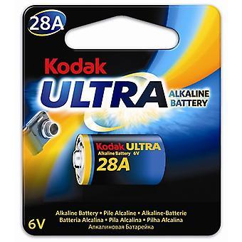 Battery 4LR44, 28A Kodak Ultra, 6V Alkaline