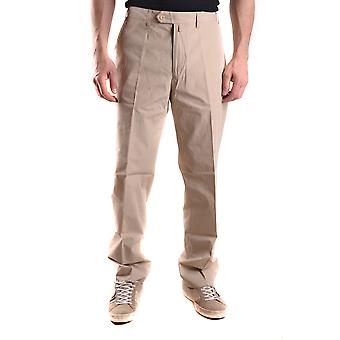 Gant Ezbc144021 Uomini's Pantaloni beige cotone