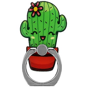 Grindstore Cute Cacti Phone Ring & Stand
