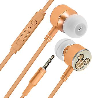Mickey Dome Smartphone Universal Wired Earphones-Disney