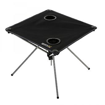 Regatta Prandeo Folding Table With Cupholders Black