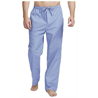 British Boxers Burford Stripe Pyjama Trousers - Blue/White