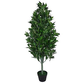 120cm (4ft) Artificial Topiary Bay Tree Pyramid Cone - Extra Large