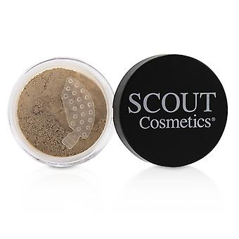 Scout Cosmetics Mineral Powder Foundation Spf 20 - # Shell - 8g/0.28oz