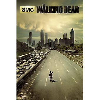 Le Walking Dead city Poster Maxi 61x91.5cm