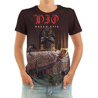 Born2rock - dream evil - dio t-shirt