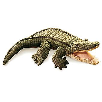 Hand Puppet - Folkmanis - Alligator New Animals Soft Doll Plush Toys 2130
