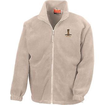 11 Hussars Veteran - Licensed British Army Embroidered Heavyweight Fleece Jacket
