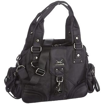 Sansibar Calima B-493 CA 37 Women's bag 44 x 275 x 14 cm (L x A x P) Black (Schwarz (black)) 44x275x14 cm (L x x A x P)