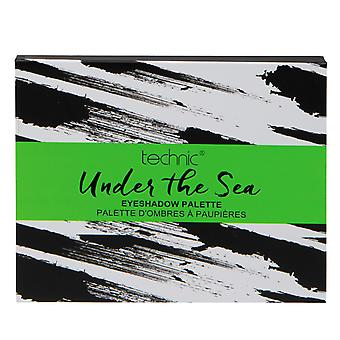 Technic Under The Sea Eyeshadow Palette 15 Shades