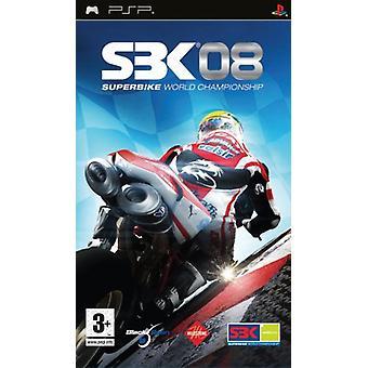 SBK-08 World Superbike 2008 (PSP) - New