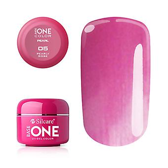 Base one-Pearl-Pearly rose 5g UV Gel