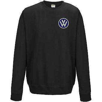VW Motor Car Motoring - Logo - Blau - Sweatshirt