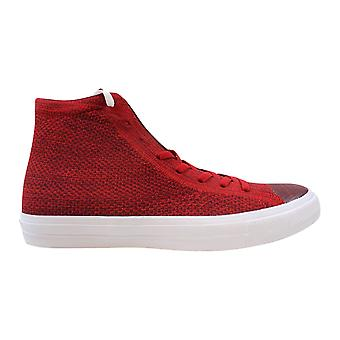 Converse Chuck Taylor All Star Flyknit Hi Casino/Deep Burgundy-White 156737C Men-apos;s
