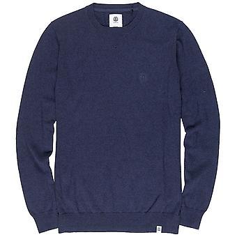 Element Crew sweatshirt med blæk