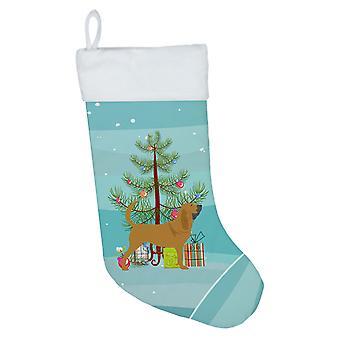 Carolines Treasures BB2902CS Bloodhound hyvää joulua puu joulu sukat
