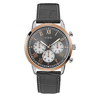 Guess W1261G5 Men's Hendrix Black Dial Wristwatch