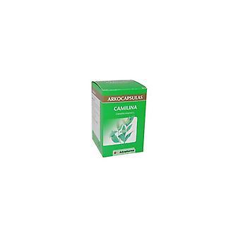 Arkocápsulas Camilina 100 Capsules. Green Tea (Diuretic and Lipolytic)