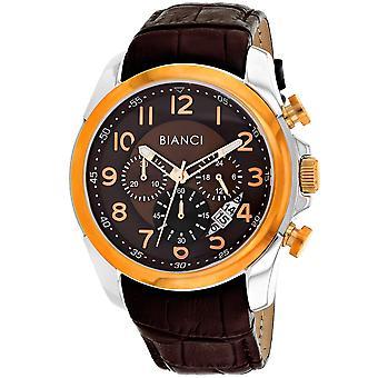 Roberto Bianci Men's Caravello Brown Zifferblatt Uhr - RB54462