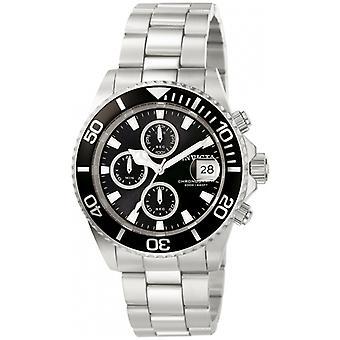 Invicta Pro Diver 1003 Edelstahl Chronograph Uhr