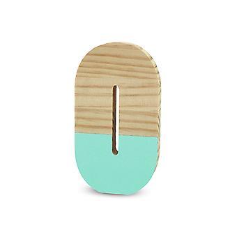 La Lluna0209000-O O Semi-Lacquered Pine Letter