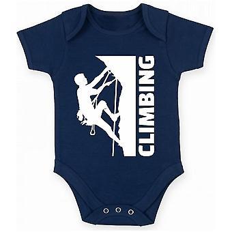 Body neonato blu navy dec0020 arrampicata