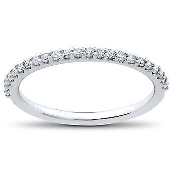 1/4 ct Lab Grown Diamond Wedding Ring 14k White, Yellow, Rose Gold, or Platinum