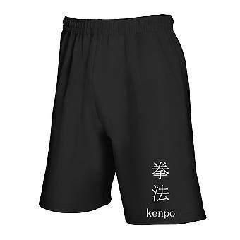 Black tracksuit shorts tam0085 kenpo