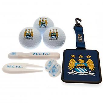Manchester City Premium Golf gåva set