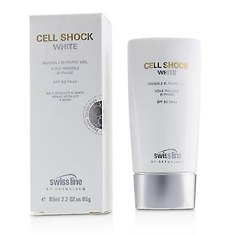 Swissline Cell Shock White Invisible Bi-phase Veil Spf50 - 65ml/2.2oz