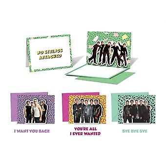 NSYNC PopUp Notecards  10 Cards and Envelopes by Nsync