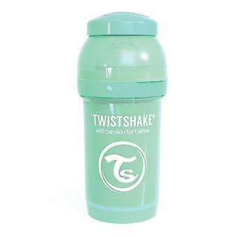 Twistshake Babyfles Antikoliek 180Ml - Pastel Green