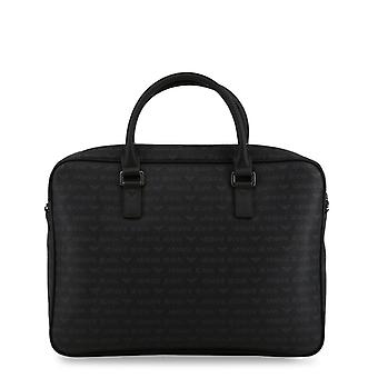 Armani jeans men's briefcase all black 932530 cd996