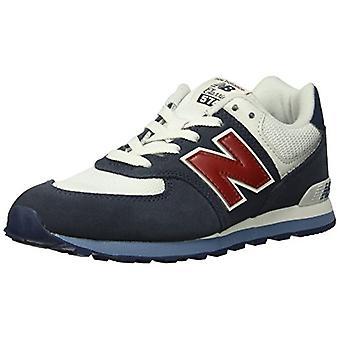 Nieuwe Balance Kids ' 574v1 veter sneaker