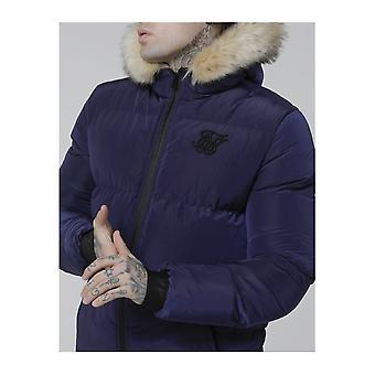 Sik Silk Distance Navy Jacket