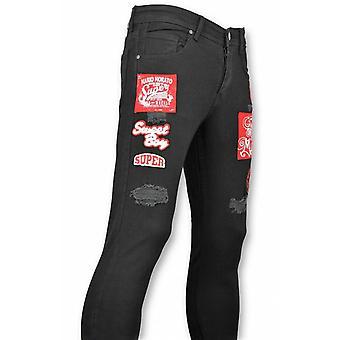 Skinny Jeans - Jeans - Application Black