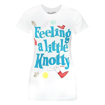 Goodie Two Sleeves Twister Feeling Knotty Women's T-Shirt