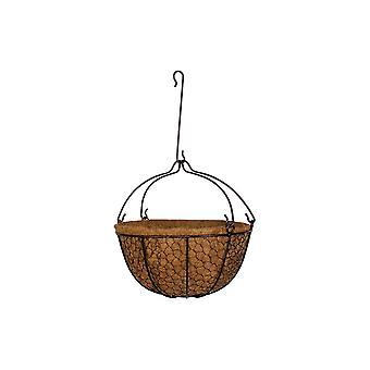 Garden Pride Hanging Basket With Detachable Hook's - Hens Mesh Design