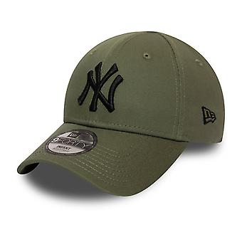 New Era 9Forty KINDER Infant Baby Cap - NY Yankees oliv