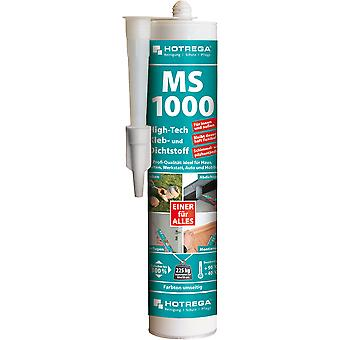 HOTREGA® MS 1000 High-Tech lijm en kit, 290 ml cartridge, wit