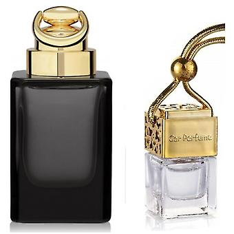 Gucci OUD For Him Inspired Fragrance 8ml Gold Lid Bottle Hanging Car Vehicle Auto Air Freshener