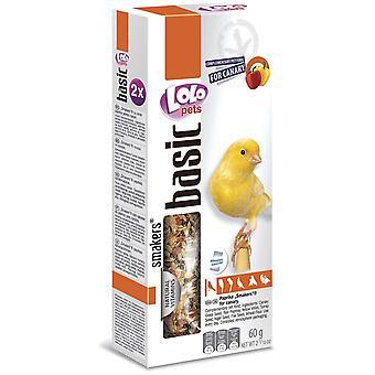 Lolo 2 Barritas Pimiento 60Gr Lolo Canar (Birds , Bird Treats)