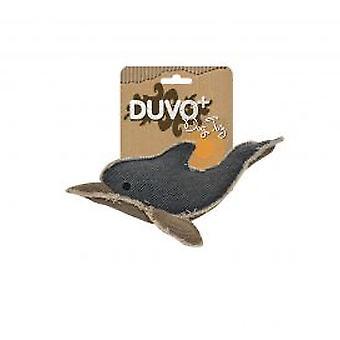 Duvo+ Delphin Leinwand Hundespielzeug (Hunde , Spielzeug und Sport , Kuscheltiere)