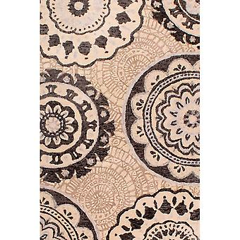 Merino Barton Teppiche in Schwarz und Weiß