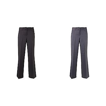 Alexandra Womens/Ladies Icona Wide Leg Formal Work Suit Trousers