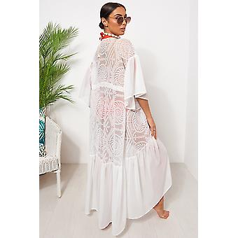 Lace Cape Sleeve كيمونو