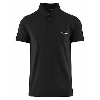 Emporio Armani Emporio Armani Beachwear Chemise polo noire