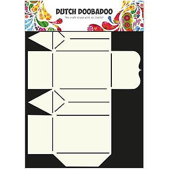 الهولندية Doobadoo الهولندية مربع الفن الاستنسل حقيبة هدية صغيرة A4 470.713.016
