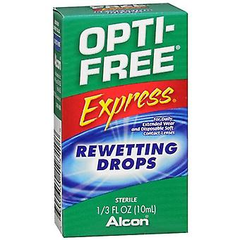 Opti-free express rewetting drops, 0.33 oz