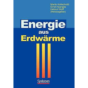 Energie aus Erdwrme by Kaltschmitt & Martin